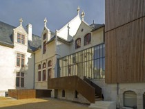 Le château du Président Tyndo à Thouars ...