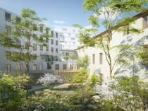 Le réaménagement d'un ancien hôpital à Toulon ...