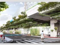 A São Paulo, un axe routier se transforme en voie ...