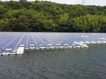 La première centrale solaire flottante de France ...