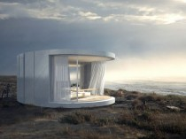 Une maison coquillage avec vue panoramique