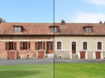 Rénovation façade: un enduit qui imite la ...