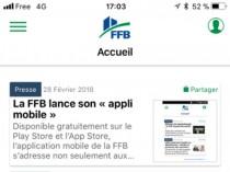 La FFB lance son application mobile