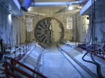Ligne 14 nord: le tunnelier Yolene a fini de ...