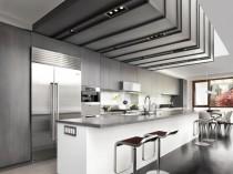 Une cuisine ultra design sublimée par un ...
