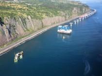 Nouvelle Route du Littoral à la Réunion : un chantier qui avance à pas de géant