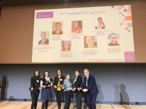 Les lauréates de la quatrième édition d'ESTP au ...