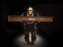 Toujours plus fort, l'exosquelette de chantier ...