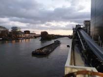 La construction est restée en 2019 le principal utilisateur du transport fluvial
