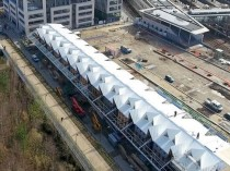 Le chantier de la deuxième gare d'Ile-de-France ...