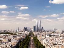 La Défense: les tours Hermitage ...