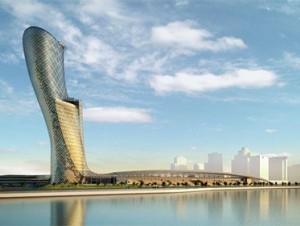 Un gratte-ciel d'Abou Dhabi