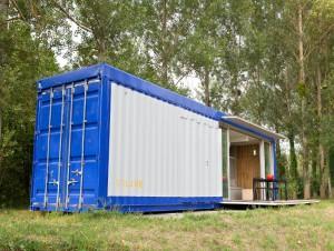 Un container recyclé et