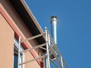 Un conduit de cheminée conçu