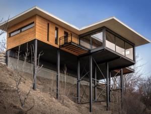 Une villa écologique