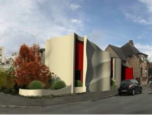 Trois maisons bientôt réalisées en impression ...