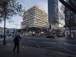 A Montparnasse, la tour CIT