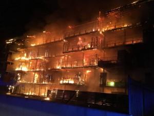 Un incendie dans le Var repose
