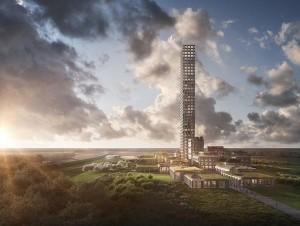 Une tour de 320 mètres de hauteur au milieu de la ...