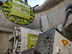 Le tunnelier Sofia prend ses quartiers à ...