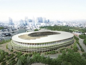 Le Japon dévoile son stade olympique