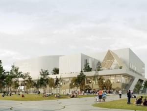 Le groupement qui construira la nouvelle arena ...