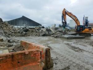 Le parcours d'un granulat recyclé dans le port de ...