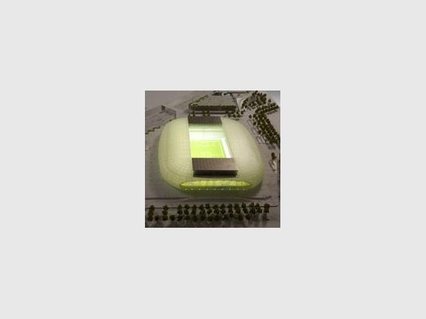 Eiffage remporte le stade de Lille avec son cocon (diaporama)