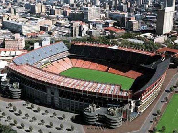 Le stade Ellis Park Stadium