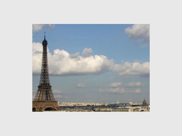 Paris tour eiffel ville immobilier