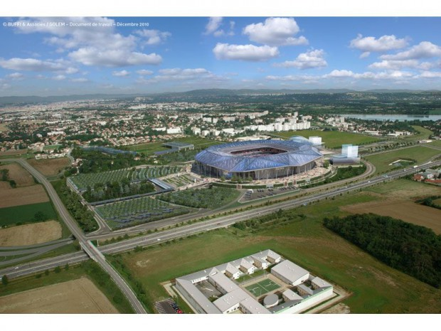 Stade de l'Olympique lyonnais