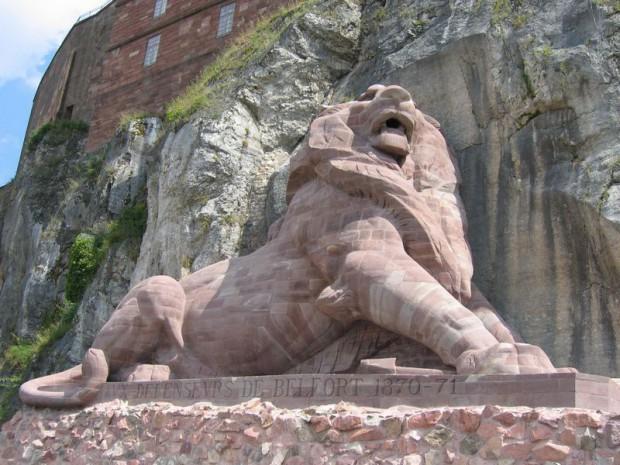 Au lion de Belfort - François Coppée 20110916_180835_lion