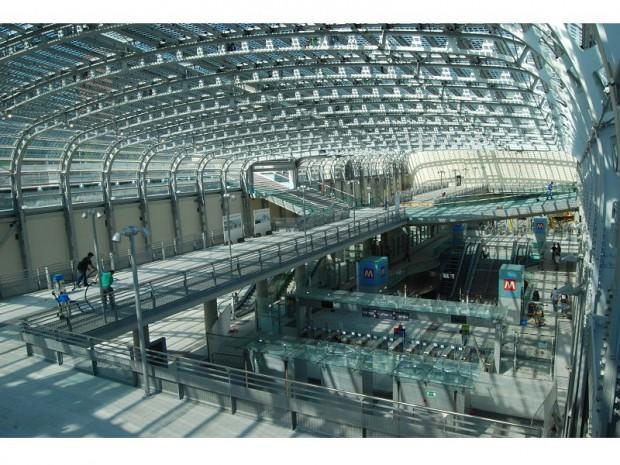 Gare TGV Turin métro