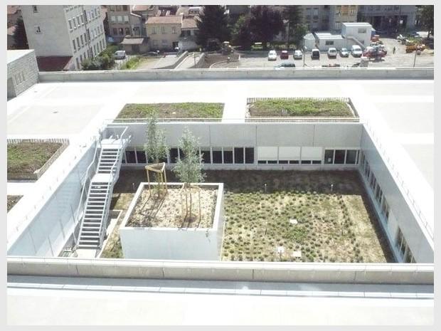 Hopital Croix Rousse patio