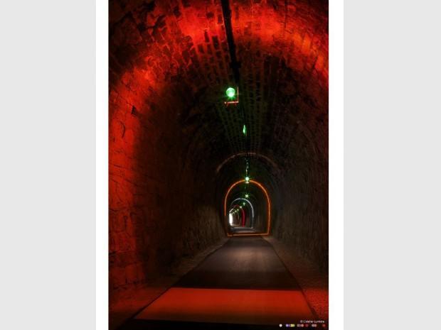 Tunnel Vigan scénographie
