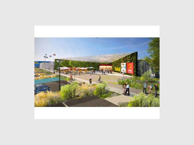 Bientôt Un Centre Commercial Inter Ikea à Caen