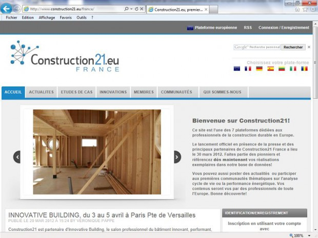 portail Construction21.eu