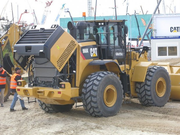 Caterpillar chargeuse
