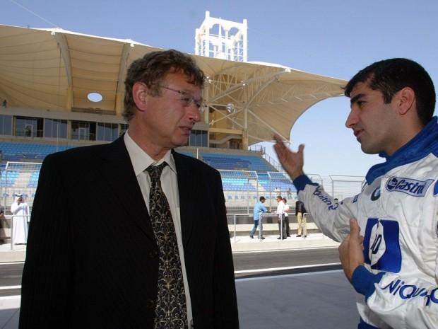 Hermann Tilke discute avec Marc Genè