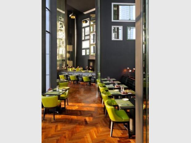 Restaurant vert JW Marriott Marquis Dubaï