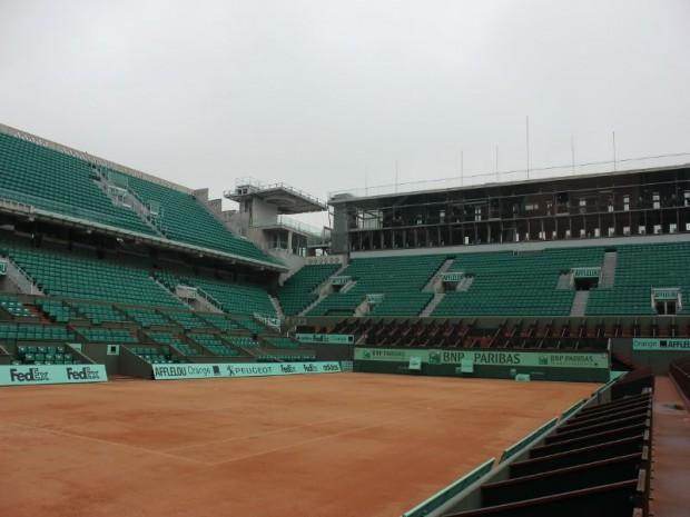 Court Philippe Chatrier à Roland Garros