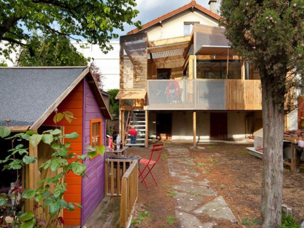 Extension bois Nicola Spinetto Architecte