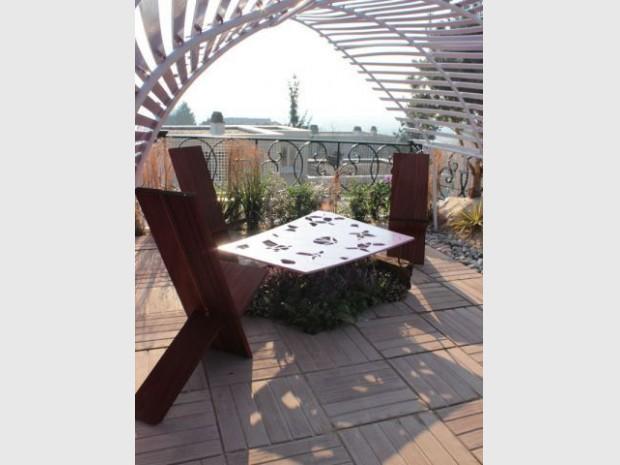 Fénelon Lauréat Jardins en Seine 2013 - table