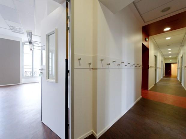 La restructuration de l'hôtel Wendel en école élémentaire Paris