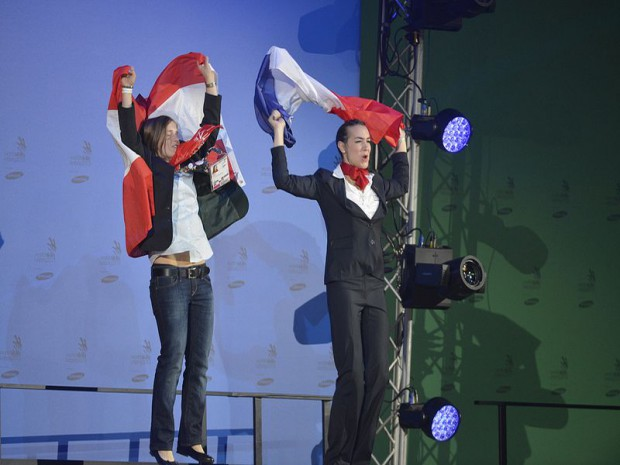 42èmes olympiades des métiers  à Leipzig