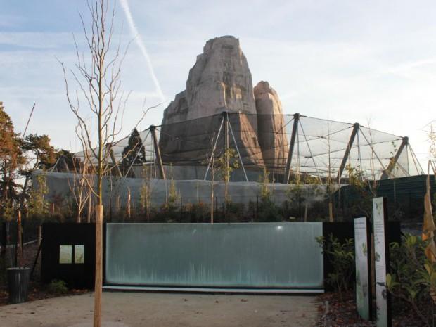 Serre tropicale au zoo de Vincennes