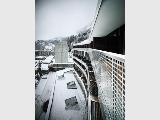 La résidence de tourisme MGM à Flaine