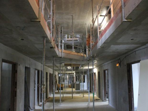 Construction du centre pénitentiaire de Beauvais (Oise)