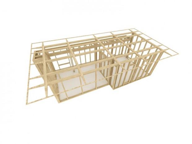 Structure bois