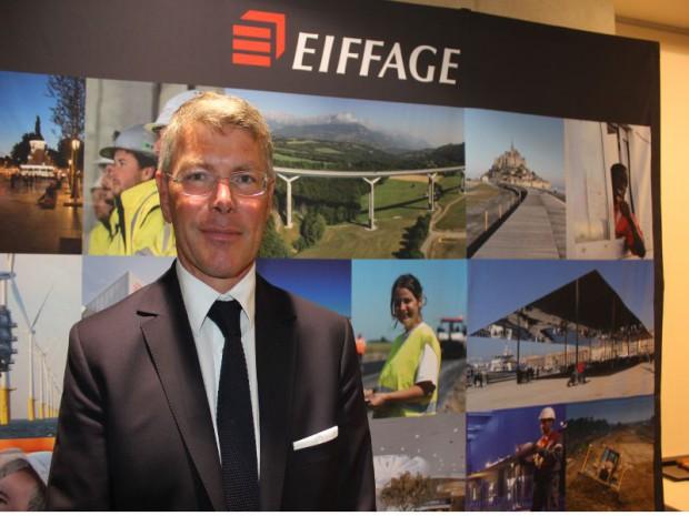 Pierre Bergé, président-directeur général  du groupe Eiffage